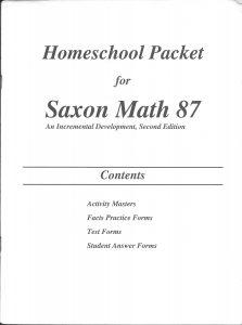 Saxon Math | Travel With the Tycksens